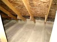 Attic Floor After Completed by Houle Insulation