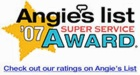 2007 Angie's List Super Service Award