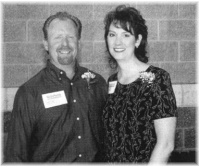 Todd and Jolene Trauba, owners of Houle Insulation, Inc.